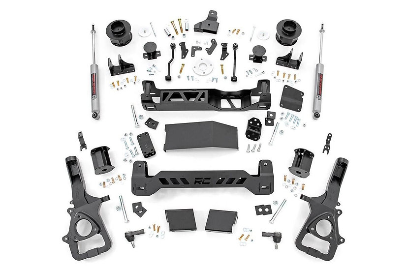 5in Ram Suspension Lift Kit (19-20 Ram 1500 4WD | Air Ride)