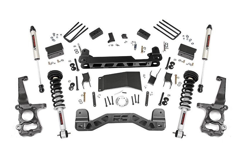 4in Ford Suspension Lift Kit | Lifted Struts & V2 (15-20 F-150 4WD)