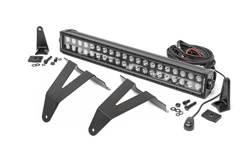 20in LED Bumper Kit   Black Series (19-21 RAM 1500)