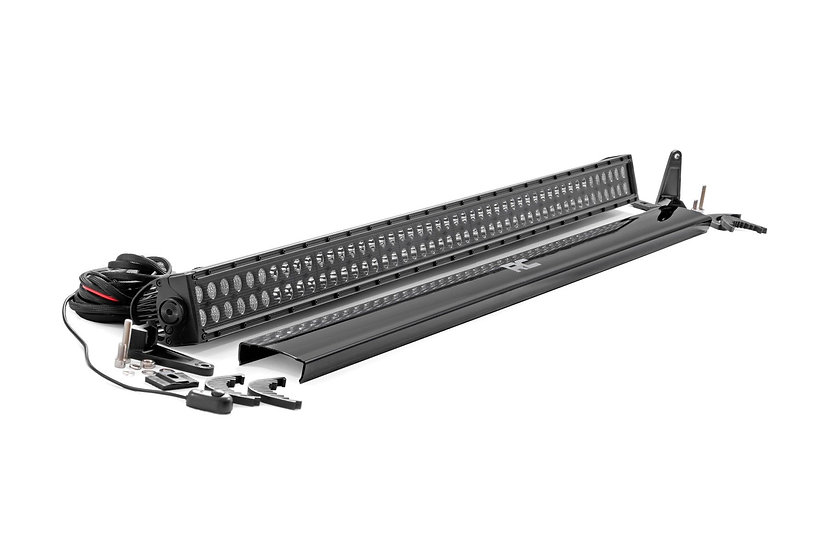 50-inch Cree LED Light Bar - (Dual Row   Black Series)