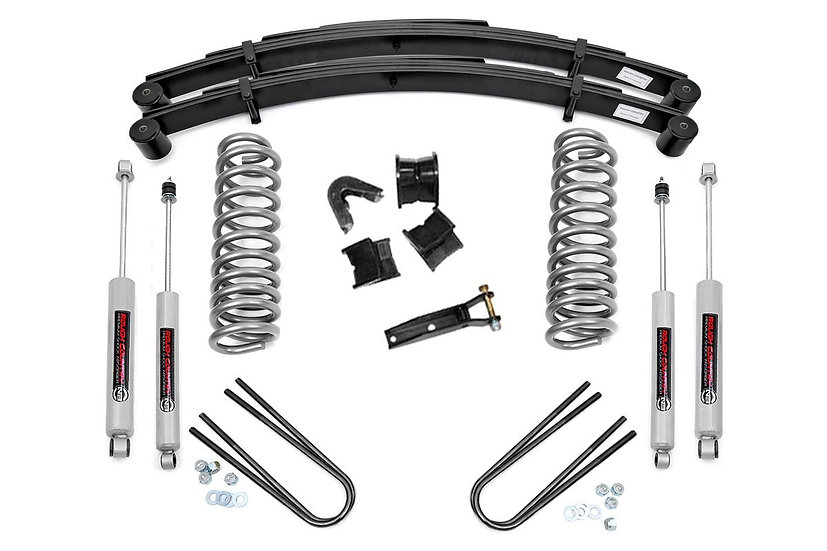 2.5in Ford Suspension Lift System