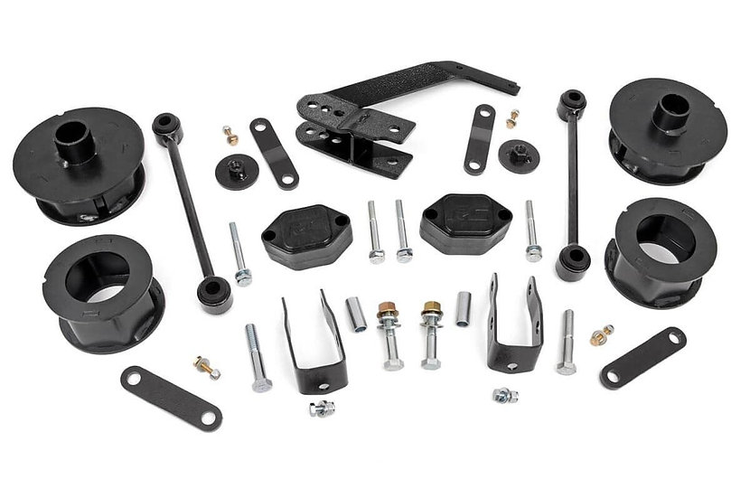 2.5in Jeep Series II Suspension Lift Kit (07-18 Wrangler JK)
