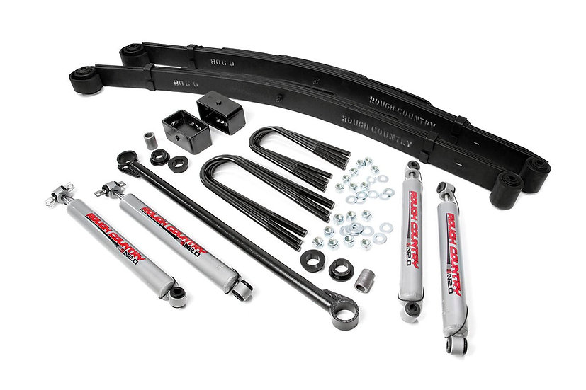 3in Ford Suspension Lift Kit (00-05 Excursion 4WD)