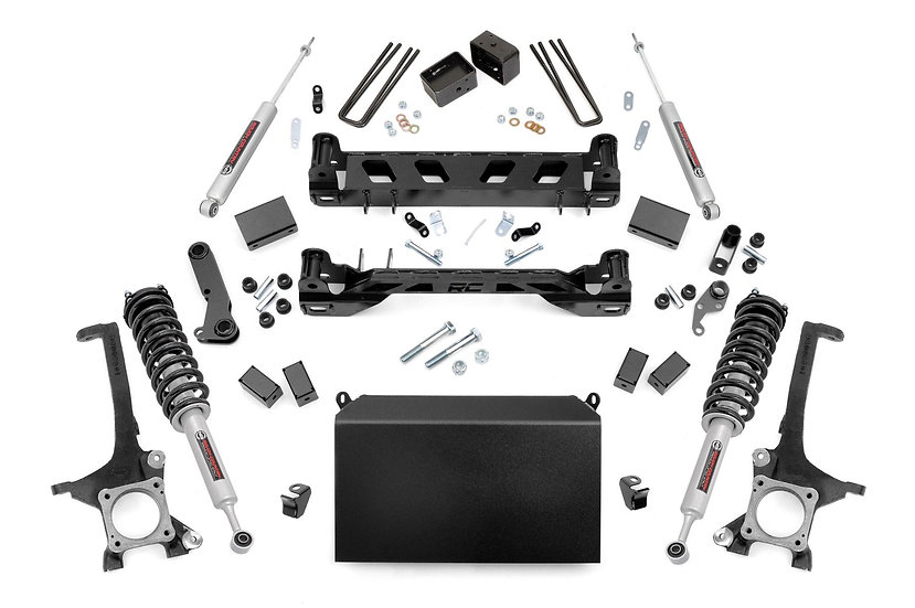 4in Toyota Suspension Lift Kit w/ N3 Struts and N3 Shocks (16-20 Tundra 4WD)