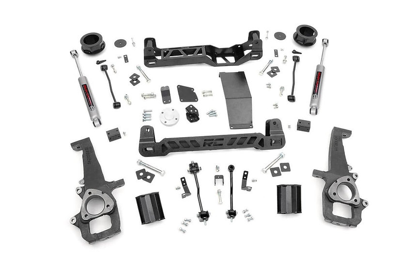4in Ram Suspension Lift Kit (12-18 1500 4WD)