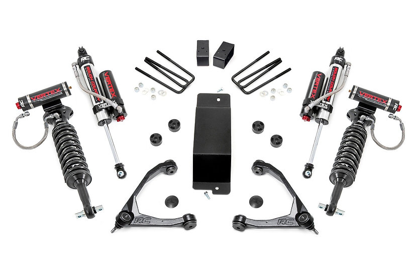 3.5in GM Suspension Lift Kit w/Upper Control Arms | Vertex (07-16 1500 PU 4WD)