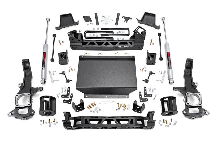 6in Nissan Suspension Lift Kit (16-20 Titan XD 4WD)