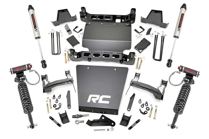 7in GM Suspension Lift   Bracket Kit w/ Vertex & V2 (14-18 1500 PU 4WD)
