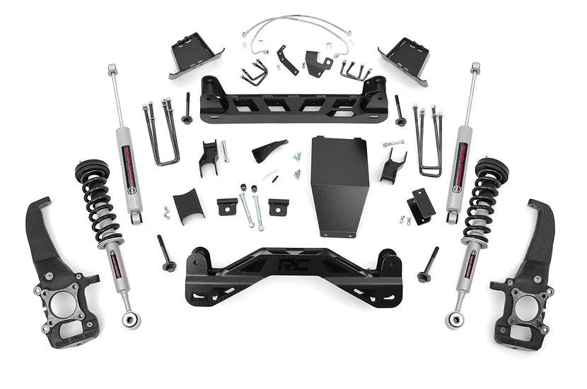 6in Ford Suspension Lift Kit   N3 Struts & N3 Shocks (04-08 F-150 4WD)