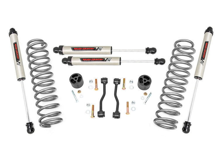 2.5in Jeep Suspension Lift Kit w/V2 Shocks | Springs (20-21 JT Gladiator)
