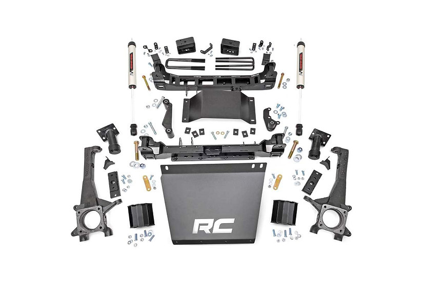 4in Toyota Suspension Lift Kit w/ V2 Shocks (16-21 Tacoma 4WD/2WD)