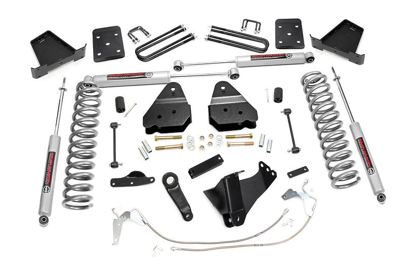4.5in Ford Suspension Lift Kit W/ N3 Shocks (08-10 F-250/350 4WD)