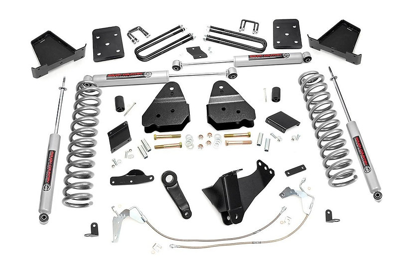 6in Ford Suspension Lift Kit (11-14 F-250 4WD | Diesel | Overloads)
