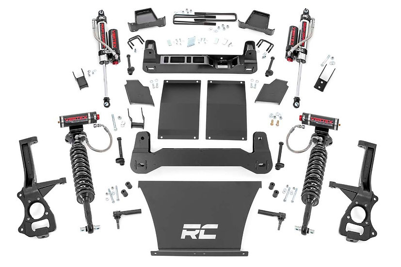 4in GM Suspension Lift Kit | Vertex (19-20 1500 Trailboss / AT4 PU 4WD)