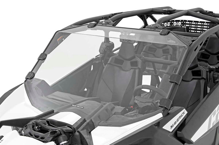Can-Am Scratch Resistant Full Windshield (17-20 Maverick X3)