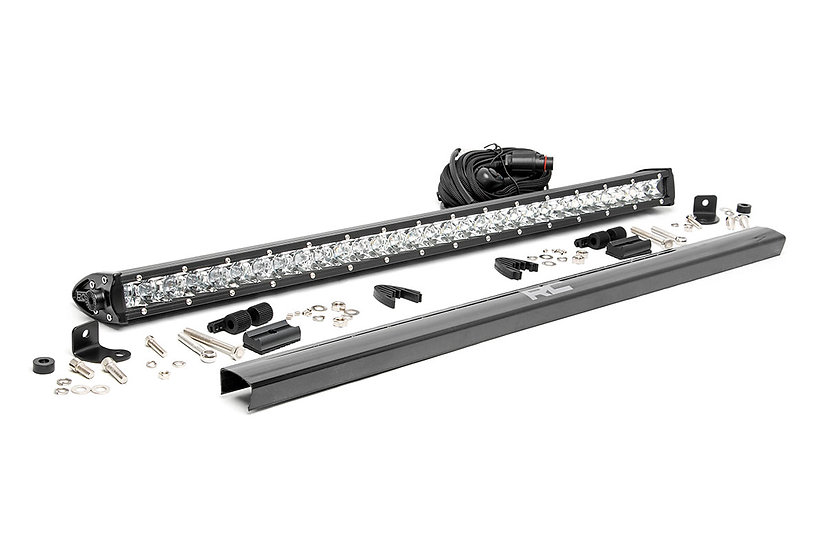 30-inch Cree LED Light Bar - (Single Row | Chrome Series)