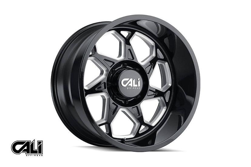 Cali Off-Road Sevenfold Wheel, 20x9 (6x139.7)