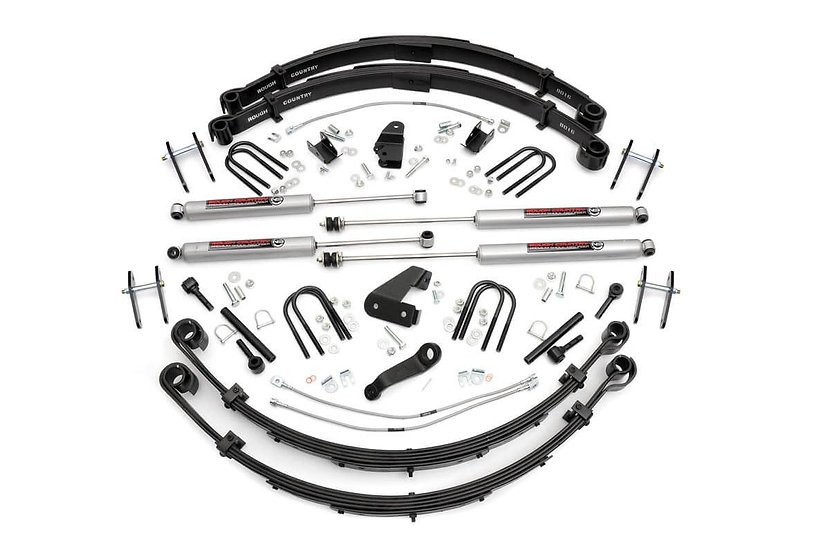 6in Jeep Suspension Lift Kit (Power Steering)