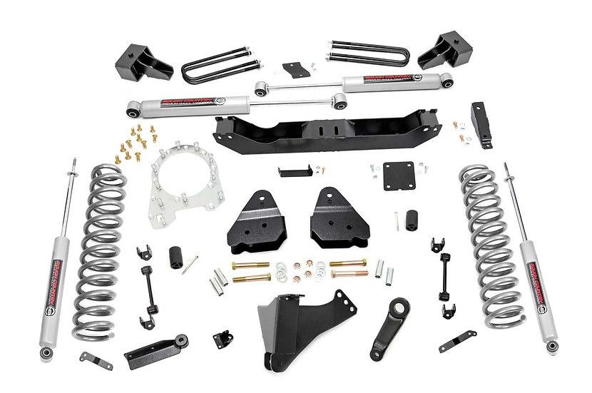 4.5in Ford Suspension Lift Kit w/ N3 Shocks (17-20 F-350 4WD | Diesel Dually)