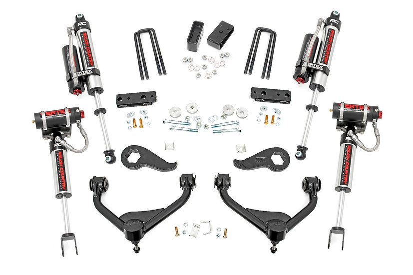3in GM Bolt-On Suspension Lift Kit w/ Vertex (2020 2500HD 2WD/4WD)