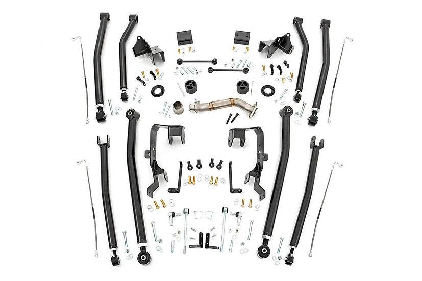 4in Jeep Long Arm Upgrade Kit (07-18 Wrangler JK)