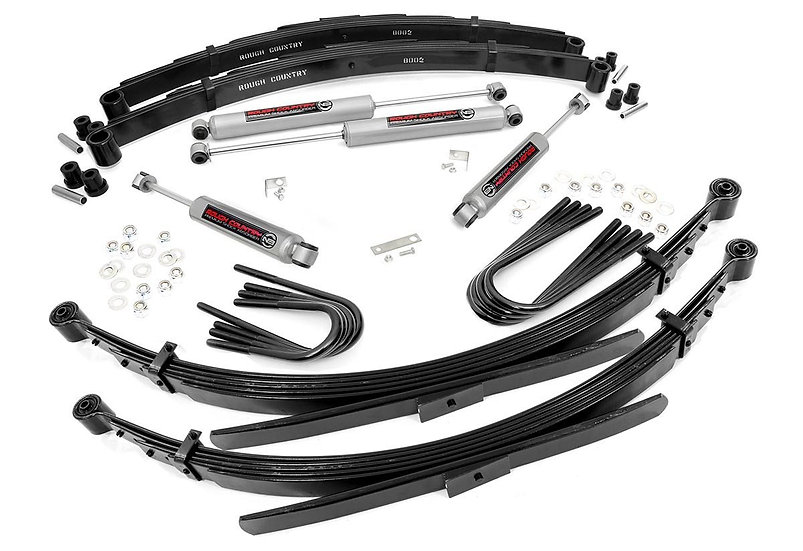 2in GM Suspension Lift System (52in Rear Springs)