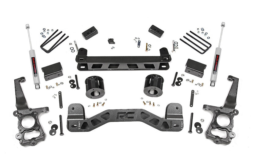 4in Ford Suspension Lift Kit (15-20 F-150 2WD)