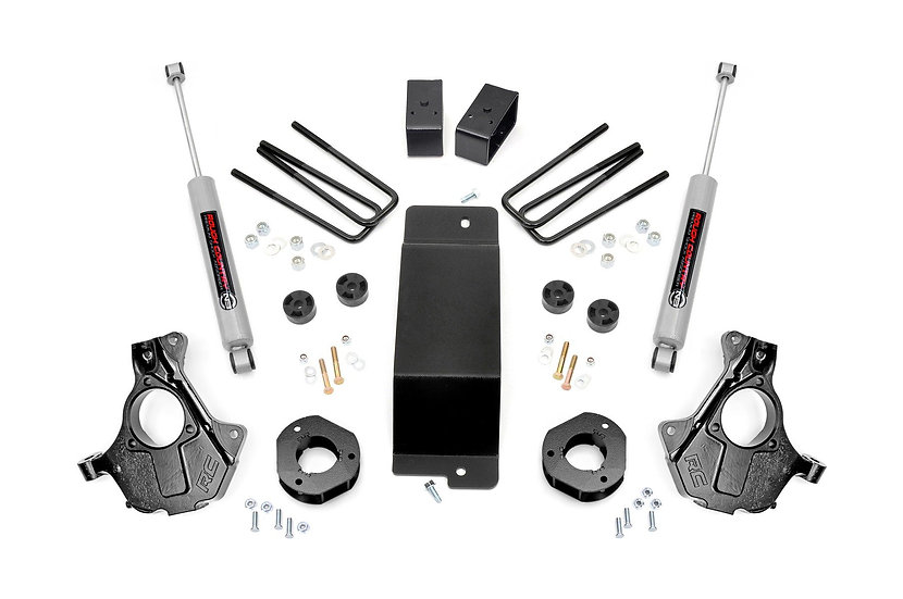 3.5in GM Suspension Lift | Knuckle Kit (07-13 1500 PU 4wd | Cast Steel)