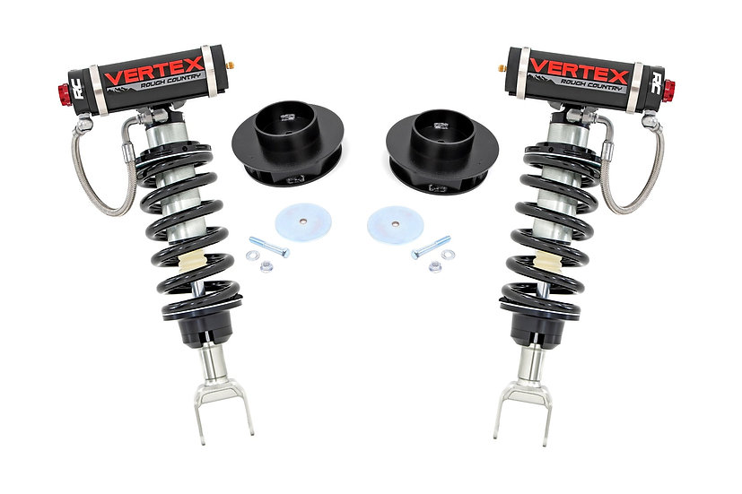2in Dodge Suspension Lift Kit w/Vertex Coilovers (12-18 Ram 1500 4WD)