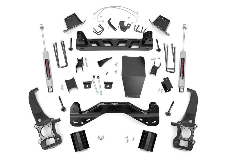 6in Ford Suspension Lift Kit | N3 Shocks (04-08 F-150 4WD)