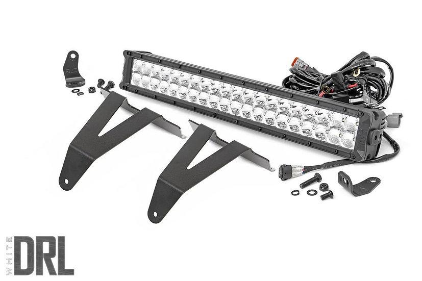 20in LED Bumper Kit | Chrome Series w/ Cool White DRL (19-21 RAM 1500)