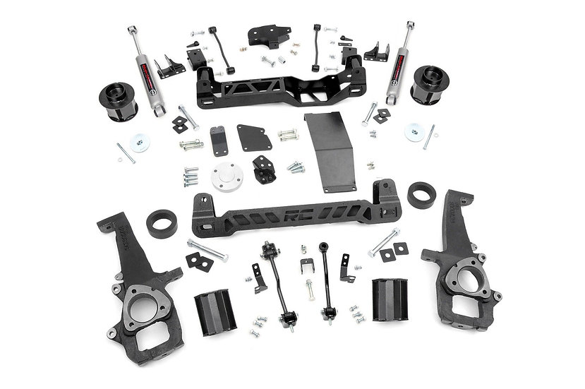 6in Ram Suspension Lift Kit (12-18 1500 4WD)