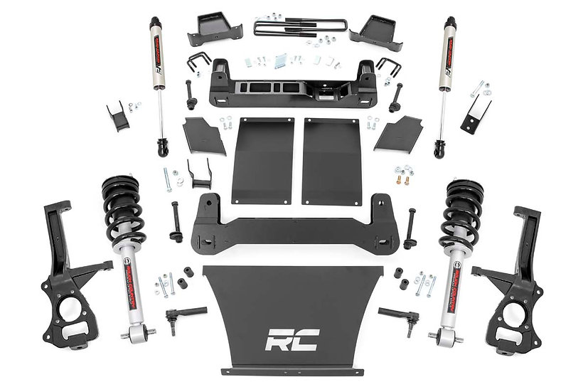 6in Suspension Lift Kit   Lifted Struts & V2 (19-21 Chevy 1500 PU 4WD/2WD)