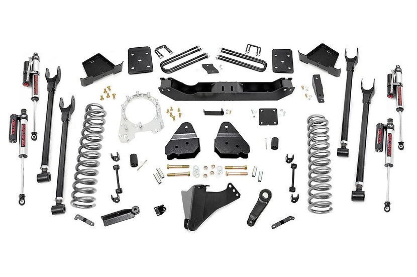 6in Ford 4-Link Suspension Lift Kit (17-20 F-250/350 4WD   4in Axle)