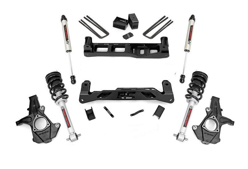7.5in GM Suspension Lift Kit w/V2 Shocks & Struts (07-13 1500 PU)