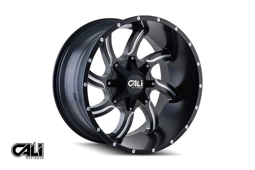 Cali Off-Road Twisted Wheel, 20x9 (6x135|6x139.7)
