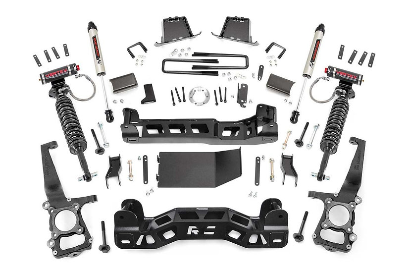 6in Ford Suspension Lift Kit | Vertex & V2 (2014 F-150 4WD)