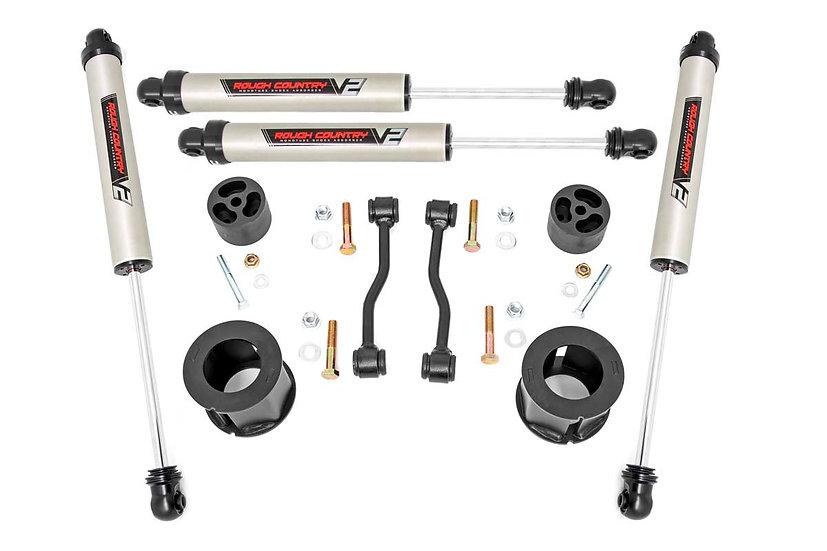 2.5in Jeep Suspension Lift Kit w/ V2 Shocks (20-21 Gladiator)