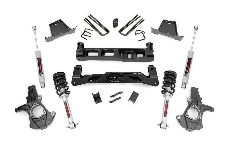 7.5in GM Suspension Lift Kit w/N3 Shocks & Struts (07-13 1500 PU)