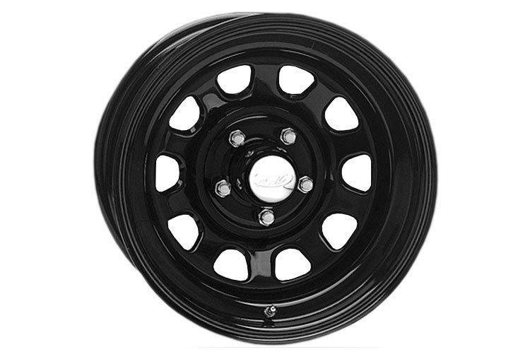 Black Daytona, 16x8 (8x6.5)
