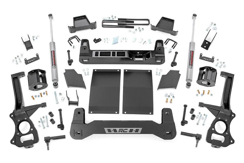 6in Suspension Lift Kit | Strut Spacers | Diesel (19-21 Chevy 1500 PU 4WD/2WD)