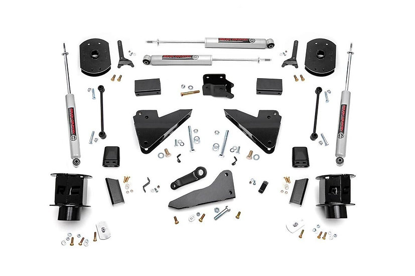5in Ram Suspension Lift Kit | Coil Spacers | Radius Drops (14-18 2500 4WD)
