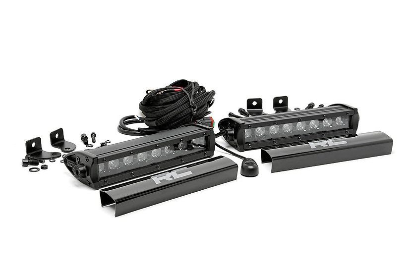 8-inch Cree LED Light Bars (Pair | Black Series)