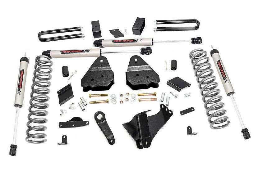 4.5in Ford Suspension Lift Kit w/V2 Shocks (11-14 F-250 4WD)