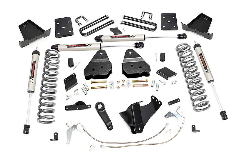 6in Ford Suspension Lift Kit w/V2 Shocks (15-16 F-250 4WD)