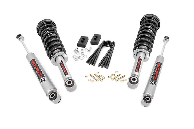 2in Ford Leveling Lift Kit | N3 Struts and N3 Shocks  (14-20 F-150)