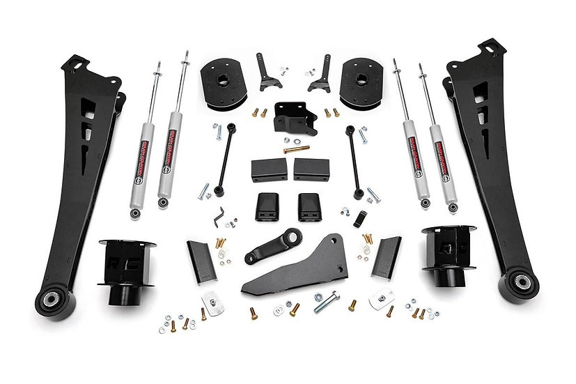 5in Dodge Suspension Lift Kit   Coil Spacers   Radius Arms (14-18 Ram 2500 4WD)
