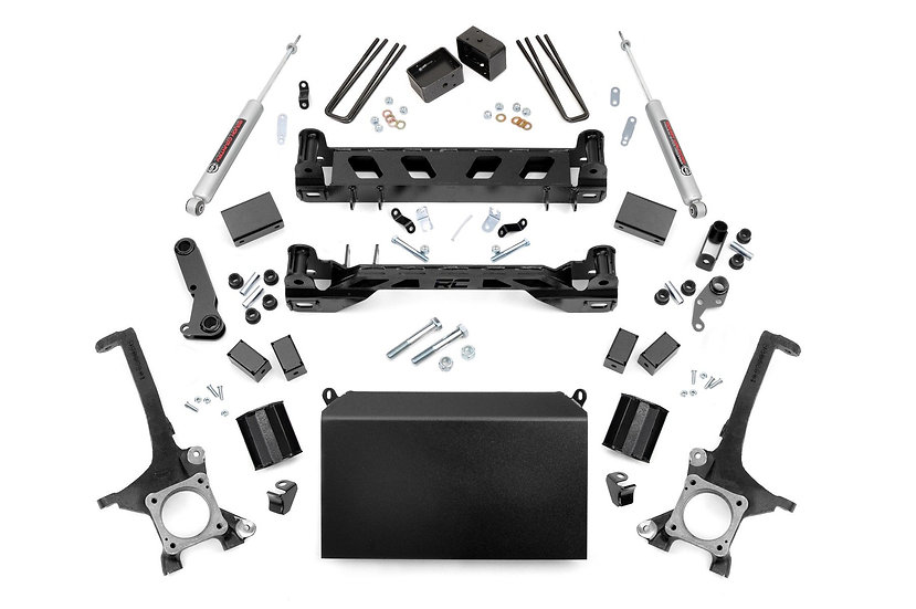 4in Toyota Suspension Lift Kit w/ N3 Shocks (16-20 Tundra 4WD/2WD)