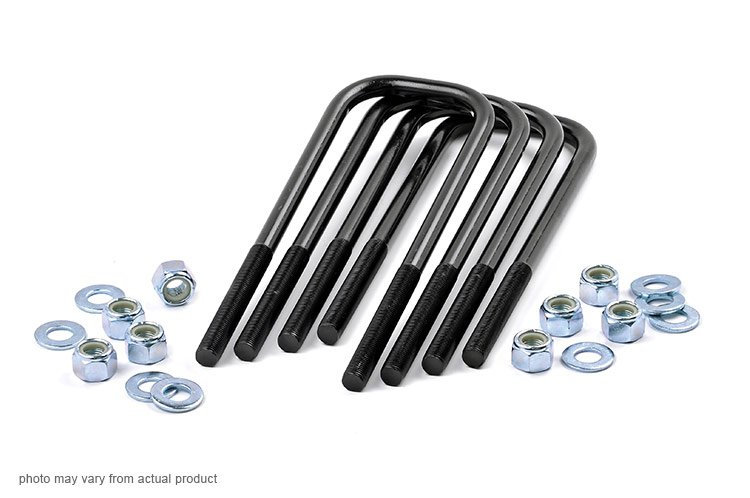 9/16-inch Large Radius U-bolts (3.125 x 11.5)