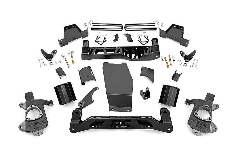 6in GMC Suspension Lift Kit (14-18 1500 Denali PU 4WD w/MagneRide   Cast Steel)